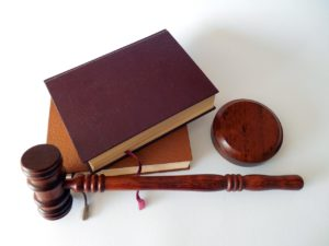 hammer, books, law